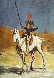 Don Chisciotte, Honoré Daumier