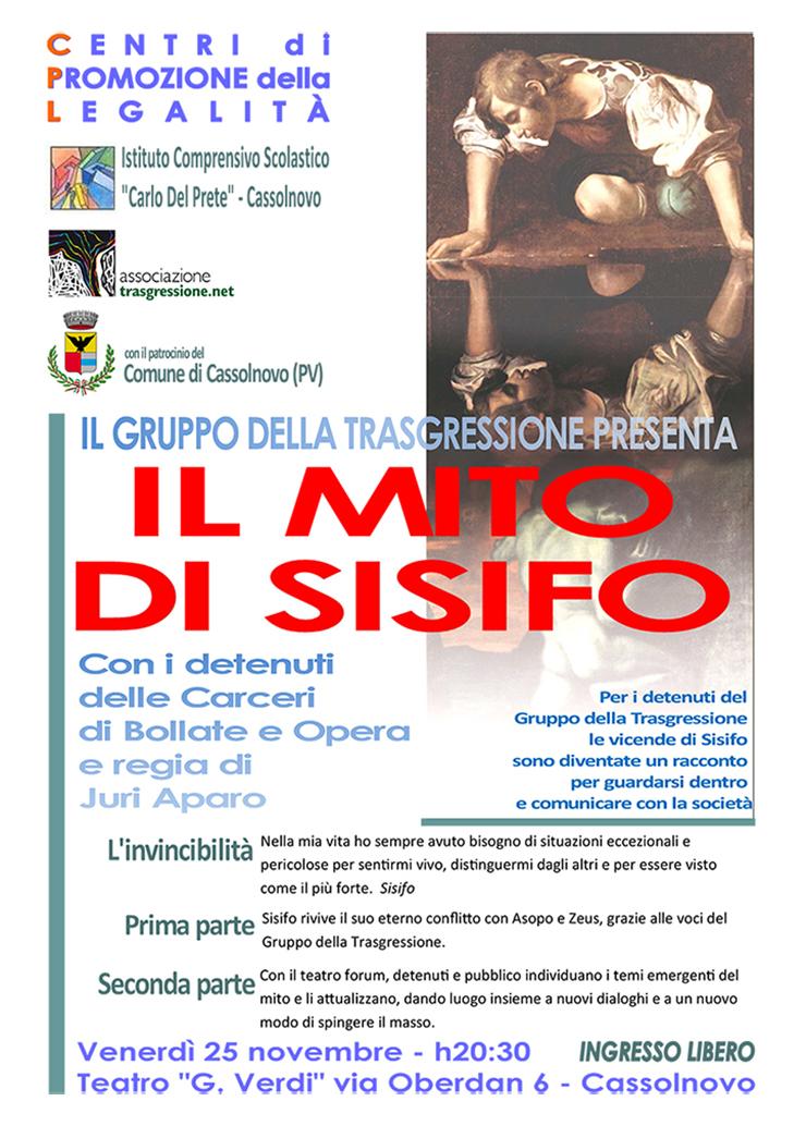 Il mito di Sisifo a Cassolnovo