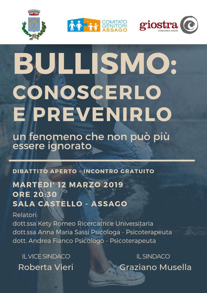 Bullismo: Conoscerlo e prevenirlo