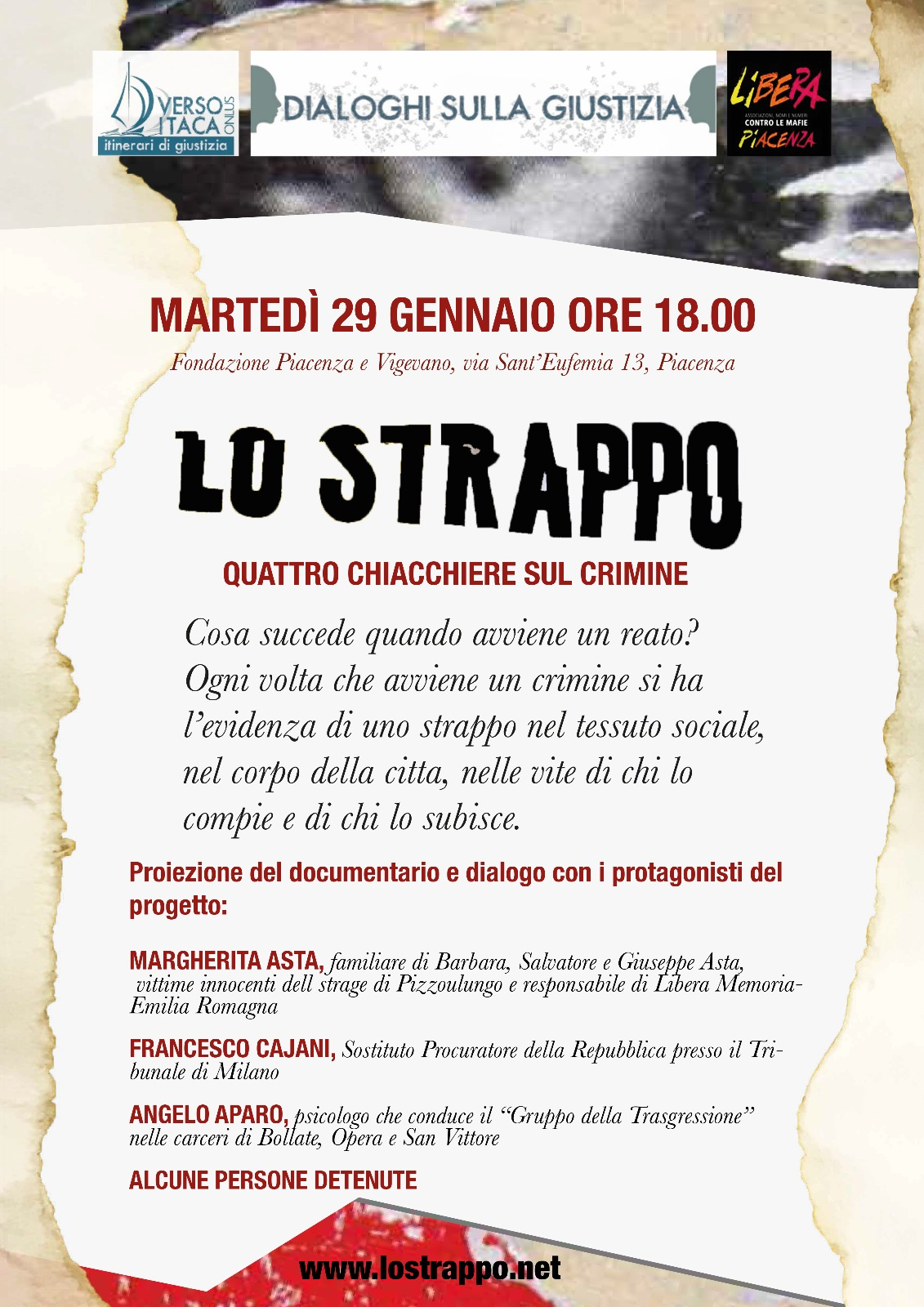 Lo Strappo a Piacenza